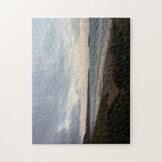 Horizon de puzzle de photo de plage de Gower