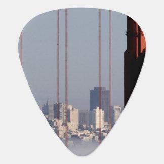 Horizon de San Francisco de pont de Golden Gate Onglet De Guitare