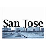 Horizon de San Jose avec San Jose dans le ciel Cartes Postales
