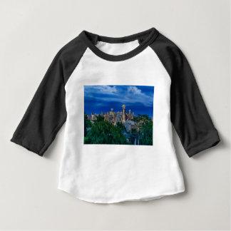 Horizon de Seattle au crépuscule T-shirt Pour Bébé