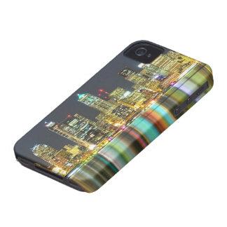 Horizon de Seattle la nuit avec la réflexion Coques Case-Mate iPhone 4
