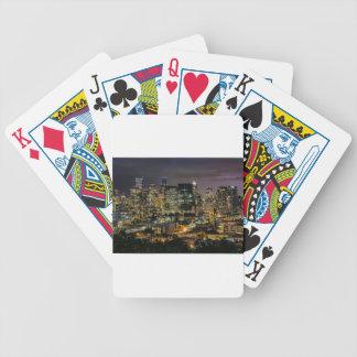 Horizon de Seattle la nuit Jeu De Poker