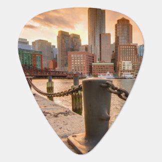 Horizon de secteur financier de Boston Onglet De Guitare