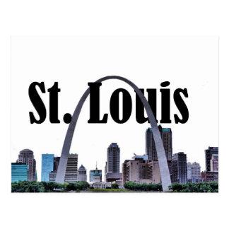 Horizon de St Louis avec St Louis dans la carte