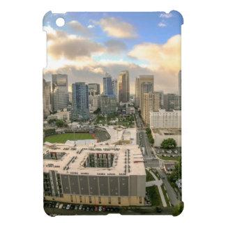 horizon de ville de Charlotte la Caroline du Nord Coque iPad Mini