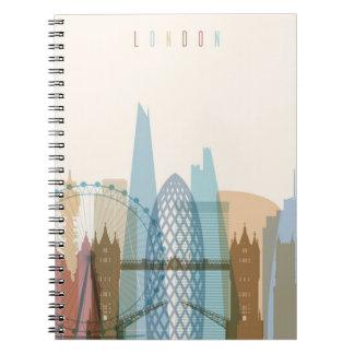 Horizon de ville de Londres, Angleterre | Carnet