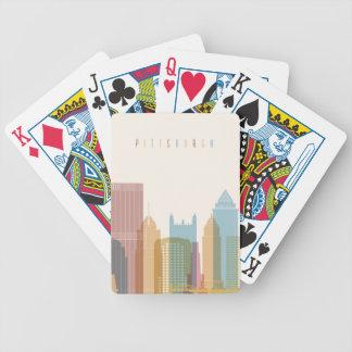Horizon de ville de Pittsburgh, Pennsylvanie | Jeu De Poker