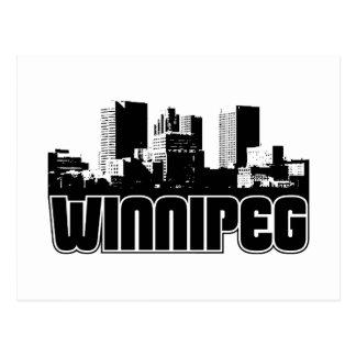 Horizon de Winnipeg Carte Postale