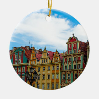 Horizon de Wroclaw Pologne Ornement Rond En Céramique