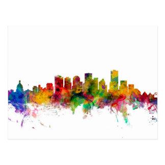 Horizon d'Edmonton Canada Carte Postale
