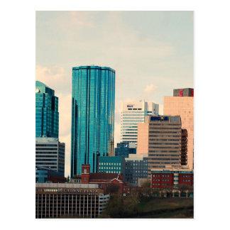 Horizon d'Edmonton Carte Postale
