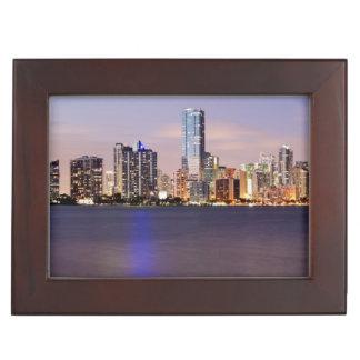 Horizon des Etats-Unis, la Floride, Miami au Boîte À Souvenirs