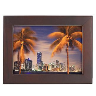 Horizon des Etats-Unis, la Floride, Miami au Boîtes À Souvenirs