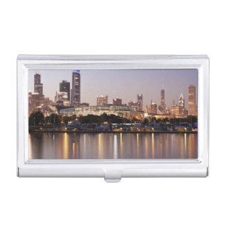 Horizon des Etats-Unis, l'Illinois, Chicago au Boîtier Pour Cartes De Visite