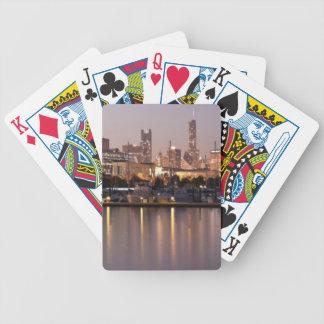 Horizon des Etats-Unis, l'Illinois, Chicago au cré Jeux De Cartes