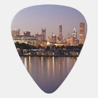 Horizon des Etats-Unis, l'Illinois, Chicago au Onglet De Guitare