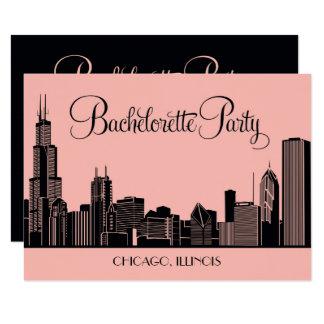 Horizon des invitations | Chicago de partie de
