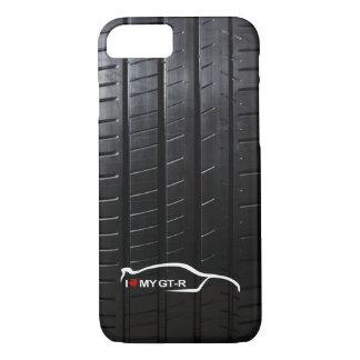 Horizon GTR avec la bande de roulement de pneu Coque iPhone 7