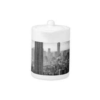 Horizon noir et blanc de New York City