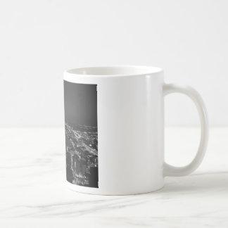 Horizon noir et blanc de Philadelphie Mug
