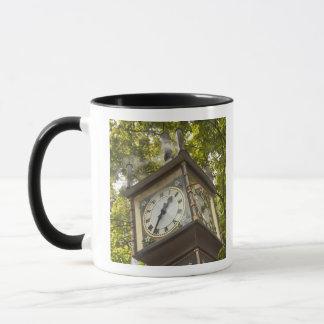 Horloge actionnée par vapeur dans le voisinage de mug