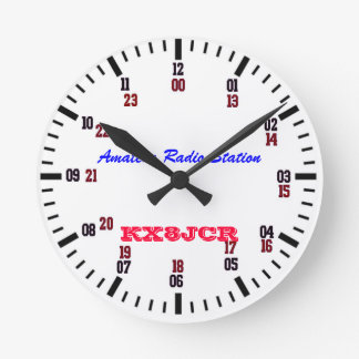 HORLOGE AMATEUR DE STATION DE RADIO