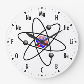 Horloge atomique de la Science/chimie
