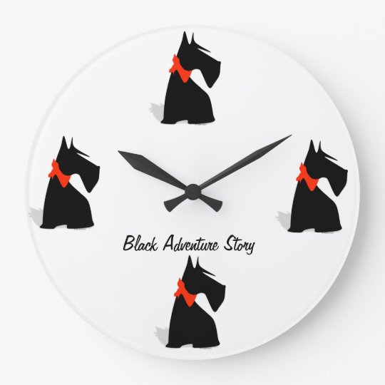 horloge black