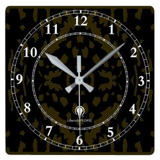 Horloge Carrée Achat décoratif moderne de l'horloge murale