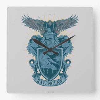 Horloge Carrée Crête de Harry Potter   Ravenclaw