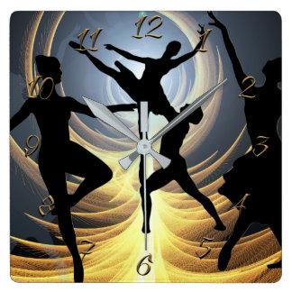 Horloge Carrée École de danse