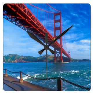 Horloge Carrée Golden gate bridge, la Californie