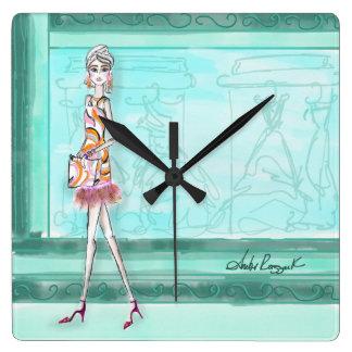 Horloge Carrée Il est toujours temps pour la mode