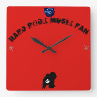 Horloge Carrée Jupe article de fan