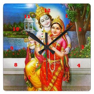 Horloge Carrée Krishna VINTAGE Inde Canada