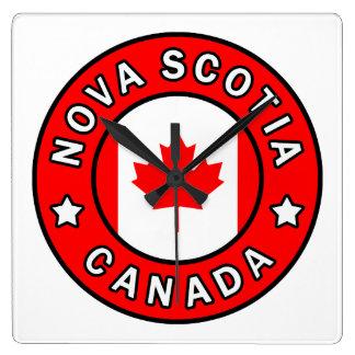 Horloge Carrée La Nouvelle-Écosse Canada