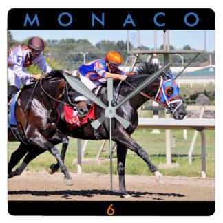 Horloge Carrée Le Monaco et confédéré