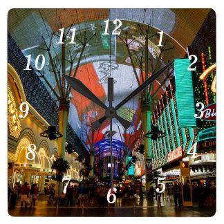 Horloge Carrée Lumières de rue de Fremont