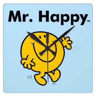 Horloge Carrée M. Happy Is Always Happy de M. Men |