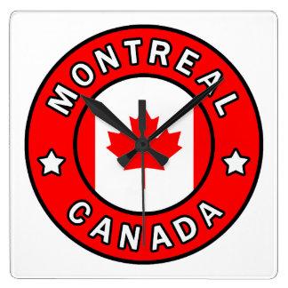 Horloge Carrée Montréal Canada
