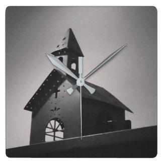 Horloge Carrée Pays peu d'église