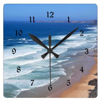 Horloge Carrée Plage d'Algarve, Portugal