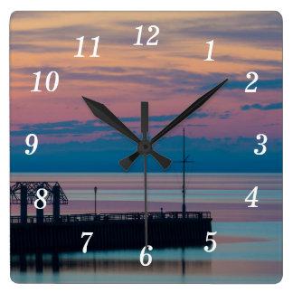 Horloge Carrée Plaisir de matin