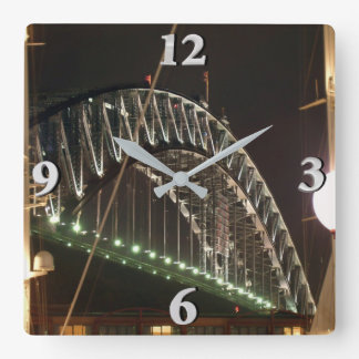 Horloge Carrée Pont de port