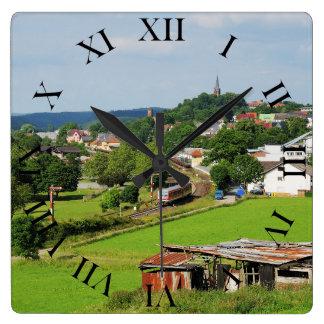 Horloge Carrée Sortie de Frankenberg