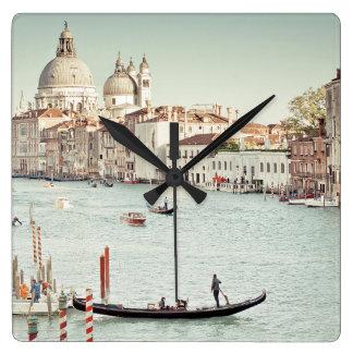 Horloge Carrée Venise, Italie | le canal grand
