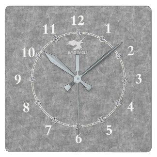 Horloge Carrée Vente décorée moderne d'horloge murale du vrai