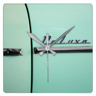 Horloge Carrée Vieux Chevrolet de luxe