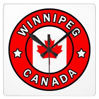 Horloge Carrée Winnipeg Canada