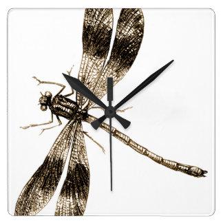 Horloge classique de libellule